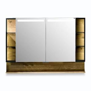 Voglauer Spiegelschrank, Eiche, Holz 96 cm