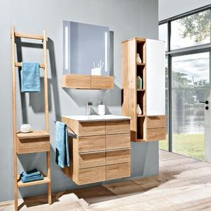 Voglauer Waschtischunterschrank, Wildeiche, Holz