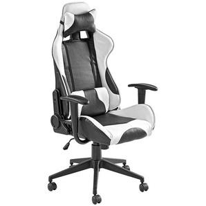Voleo: Stuhl, Schwarz, Weiß, B/H/T 70 129-138 59
