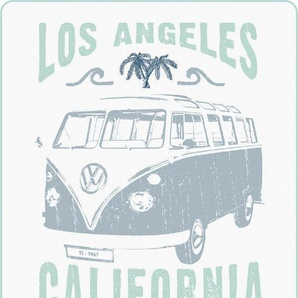 Volkswagen Wohndecke »California«, 130x170 cm, weiß, trocknergeeignetes & maschinenwaschbares Material