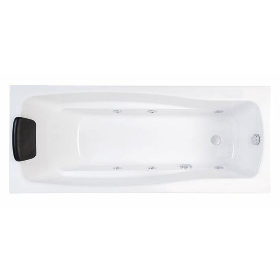 Whirlpool Optimus 160 cm lang Volkswhirlpool mit Massage-Basisaustattung