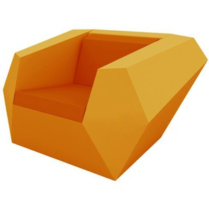 Vondom - FAZ Lounge Sessel - orange - outdoor