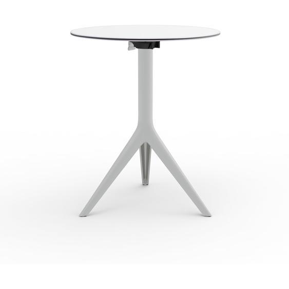 Vondom Gartentisch, Weiß, Aluminium 73,5 cm