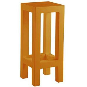 Vondom Jut Hocker, Orange, 32.799999999999997X 32.799999999999997X 75.8cm