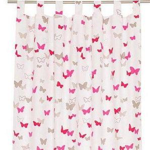 Vorhang »E-Sweetbutterfly«, Esprit, Ösen (1 Stück), HxB: 250x140, bedruckt mit bunten Schmetterlingen