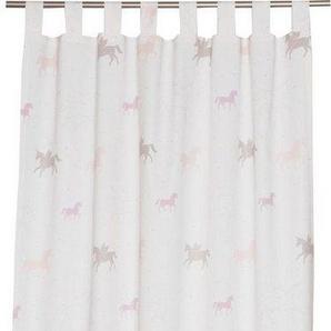 Vorhang »E-Unicorn«, Esprit, Ösen (1 Stück), HxB: 250x140, bedruckt mit Einhorn-Motiv
