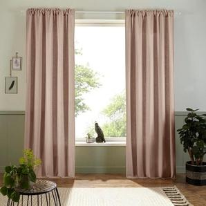 Vorhang »Esra«, Home affaire, Multifunktionsband (1 Stück), Bio-Baumwolle