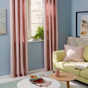 Vorhang »Garden Solid«, Guido Maria Kretschmer Home&Living, Ösen (2 Stück)