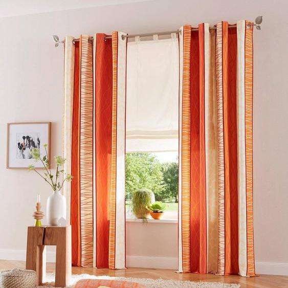 Vorhang »Gosen«, my home, Ösen (2 Stück), Gardine, Fertiggardine, blickdicht