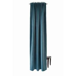 Vorhang, HOMING, Homing Schlaufenschal Galdin 140x245 Vorhang Schlafzimmer verdunkelnd petrol