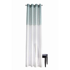 Vorhang, HOMING, Ösenschal Caja 140x245cm Farbe: petrol