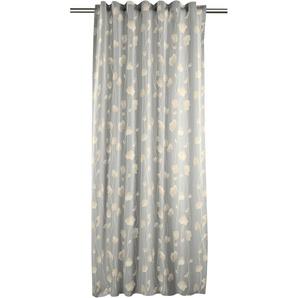 Vorhang , grau, H/B: 245/121cm, »Isa«, strapazierfähig, APELT