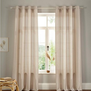 Vorhang »Leticia«, Home affaire, Ösen (2 Stück)