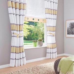 Vorhang »Maria«, my home, Kräuselband (2 Stück), Inkl. 2 Raffbänder