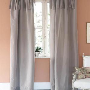 Vorhang Mauve - Faux Silk - Mauve - Vorhang: 100 % Faux Silk / Abfütterung: 100 % Baumwolle - Vorhänge - Gardinen - Schlaufenschals