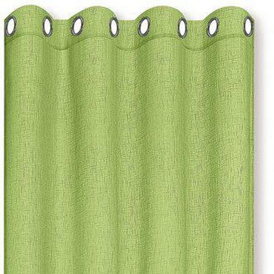 Vorhang »MIRANDA«, Happy Home, Ösen (1 Stück), HxB: 235x140, halbtransparent
