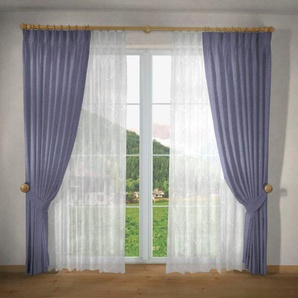 Vorhang nach Maß »Una«, VHG, Kräuselband (1 Stück), Breite 135 cm