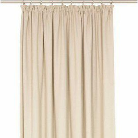 Vorhang nach Maß »WirthNatur«, Wirth, Kräuselband (1 Stück), Breite 132 cm