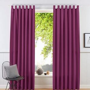Vorhang »Raja«, my home, Schlaufen (2 Stück)