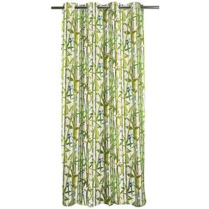 Vorhang Summergarden mit Ösen (1 Stück), verdunkelnd