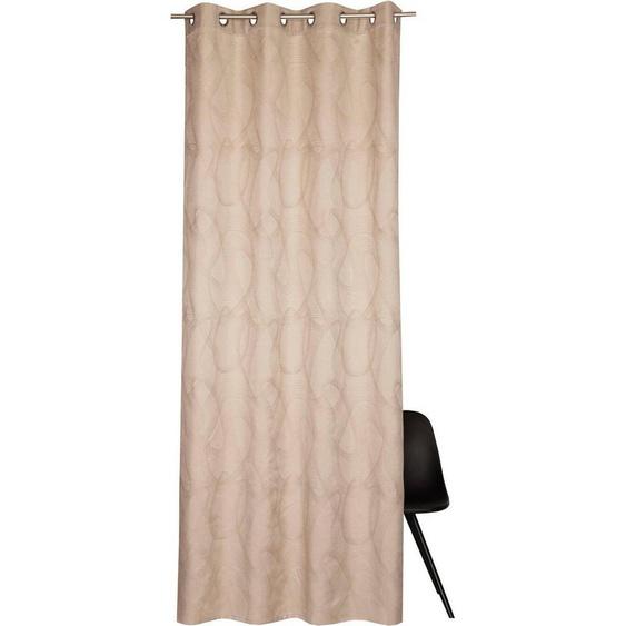 Vorhang »Wavy«, Esprit, Ösen (1 Stück), HxB: 245x140
