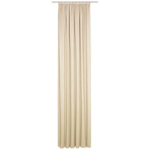 Vorhang »WirthNatur«, Wirth, Kräuselband (1 Stück), 1-lagig