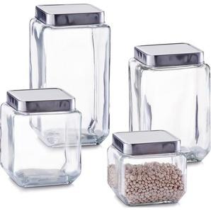 Vorratsglas, transparent, L/B/H, Zeller Present