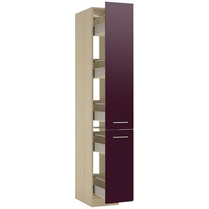 Vorratszentrum, 1-türig   BLUES | lila/violett | 30 cm | 207 cm | 58 cm |