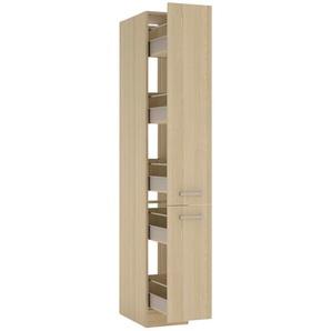 Vorratszentrum Front/Korpus Akazie Nachbildung  POP | holzfarben | 30 cm | 207 cm | 58 cm |