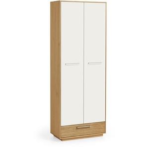 Voss Möbel Garderobenschrank, Weiß, Holz