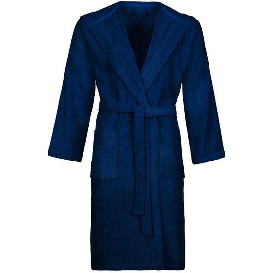 Vossen Bademantel Blau , Textil , Uni