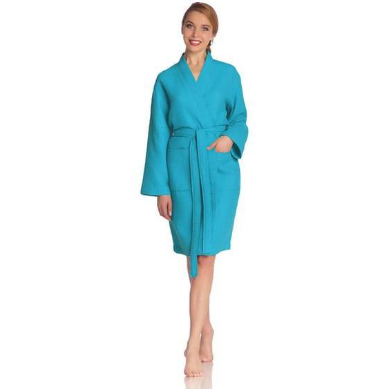 Vossen Bademantel Blau , Textil