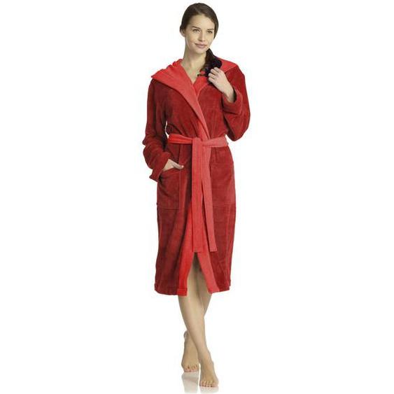 Vossen Bademantel Rot , Textil