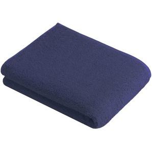 Vossen Badetuch 100/150 cm , Blau , Textil , Uni , 100x150 cm