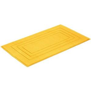Vossen Badteppich Badteppich, Gelb, Baumwolle