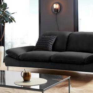 W.SCHILLIG 2,5-Sitzer »enjoy&MORE«, mit Sitztiefenverstellung, Füße Chrom glänzend, Breite 262 cm