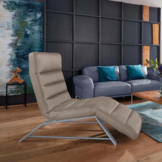 W.SCHILLIG Relaxliege daily dreams Longlife Xtra-Leder Z59, 65 cm, Mit Doppelmotor & Akku braun Relaxliegen Sessel Sofas