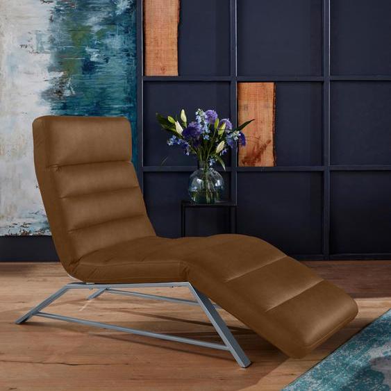 W.SCHILLIG Relaxliege daily dreams Stoff S37, 75 cm, Mit Doppelmotor & Akku braun Relaxliegen Sessel Sofas