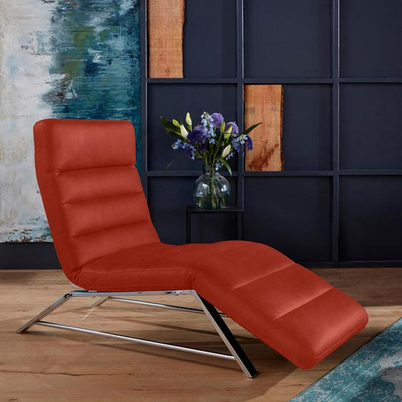 W.SCHILLIG Relaxliege daily dreams Stoff S37, 75 cm, Mit Doppelmotor rot Relaxliegen Sessel Sofas