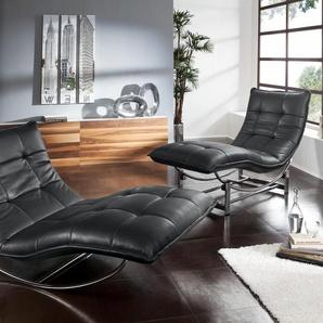 Relaxliege , schwarz, 100cm, »woow«, W.SCHILLIG