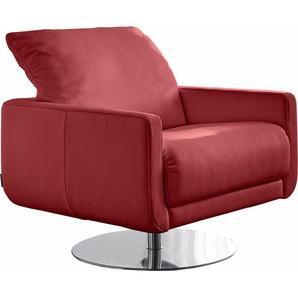 W.SCHILLIG Armlehnen-Sessel »mademoiselle« mit Kopfstützenverstellung und Drehteller