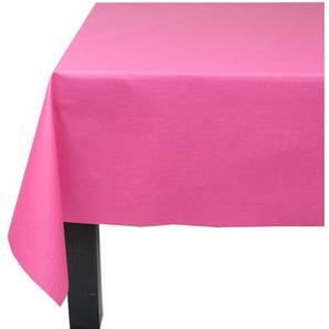 Wachstuch-Tischdecke Einfarbige aus 100% Baumwolle