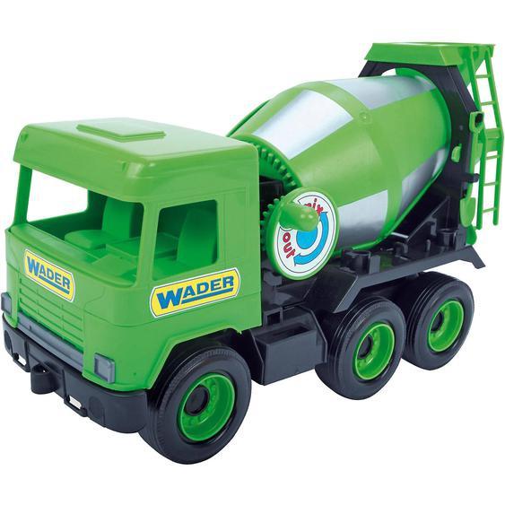 Wader Wozniak Middle Truck Betonmischer 38 cm grün