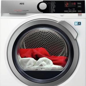 Wärmepumpentrockner 8000 T8DE76595, weiß, Woolmark Blue-Zertifikat, , , Energieeffizienzklasse: A++, AEG