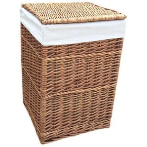 Wäschebehälter aus Korbgeflecht