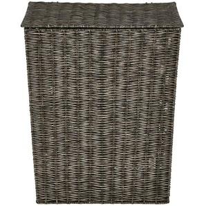 Wäschekorb mit Deckel ¦ braun ¦ Maße (cm): B: 26 H: 15 T: 53 Aufbewahrung  Wäscheaufbewahrung - Höffner