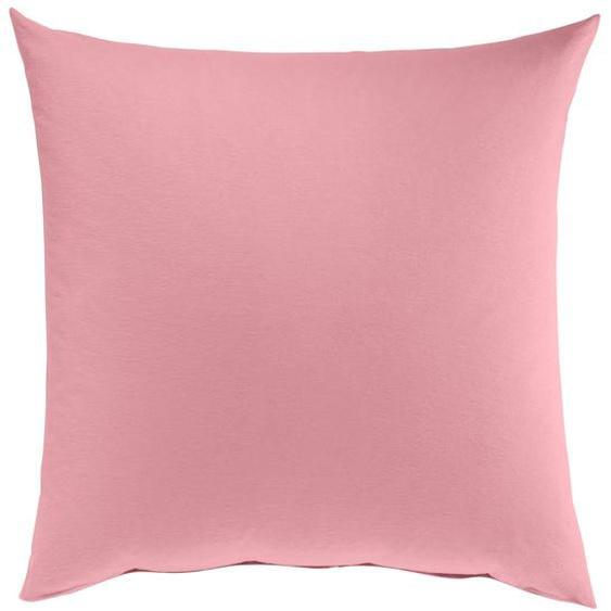 wäschepur Kissenbezüge, (2 St.) 3, 2x40/60 cm, Edelflanell rosa Kissenbezüge uni Kissen Bettwäsche