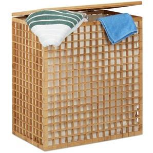Wäschesortierer aus Bambus