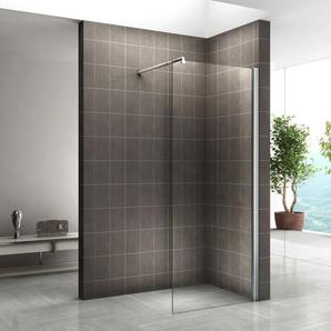 Walk In Dusche 10mm Duschwand Duschabtrennung Klarglas W840 160x200 cm - I-FLAIR