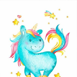 Poster »Milly the Unicorn«, 40/50 cm, gerahmt